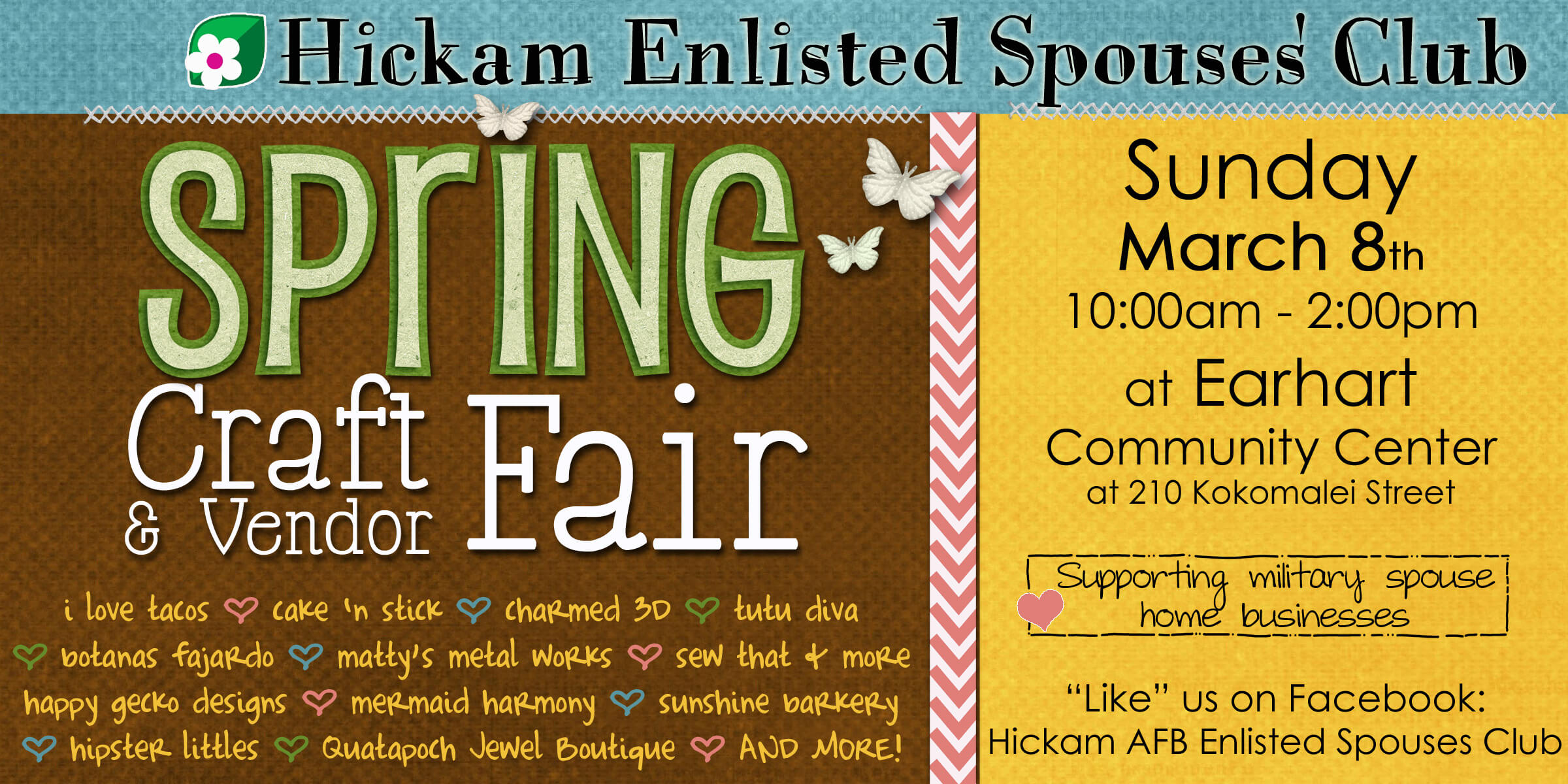 Hickam Craft Fair